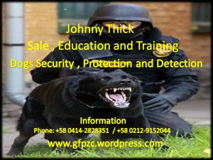 Publicidad perros de seguridad y protección